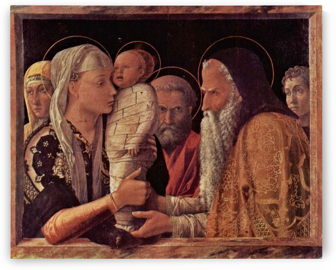 Presentation of Jesus at the Temple by Andrea Mantegna