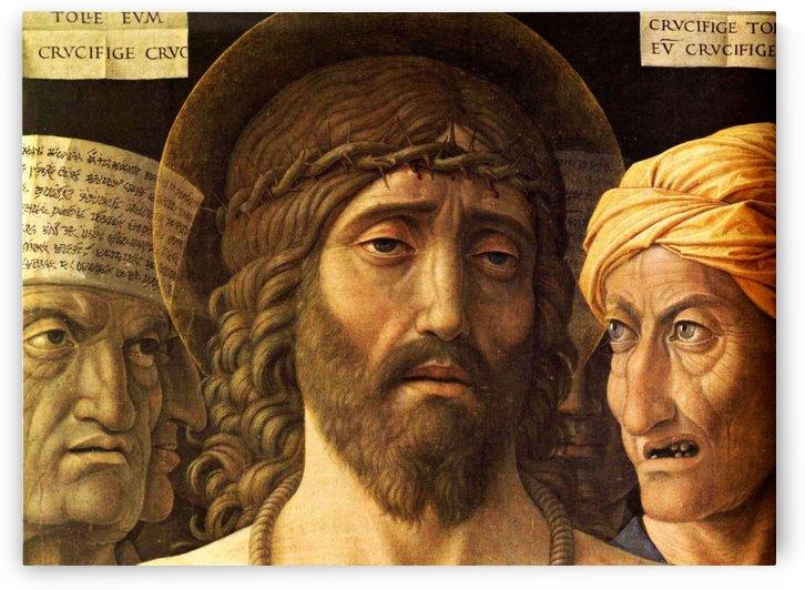 Ecce Homo detail by Andrea Mantegna