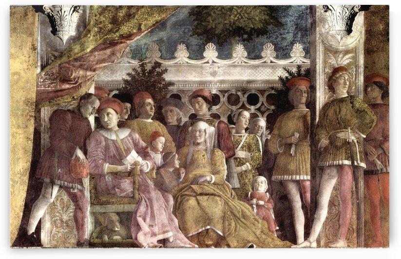 Camera degli Sposi by Andrea Mantegna