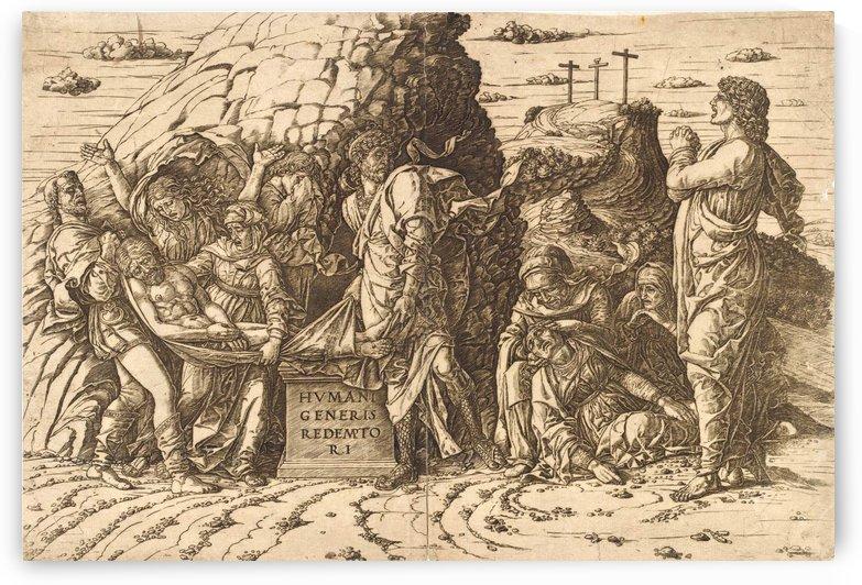 Entombment by Andrea Mantegna