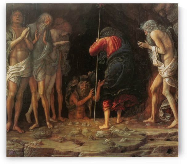 Descent into Limbo by Andrea Mantegna