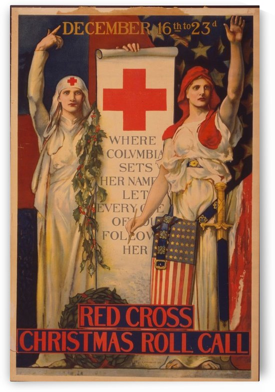 Red Cross by VINTAGE POSTER