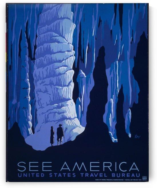 See America 2 by VINTAGE POSTER