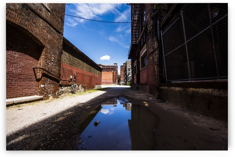 Alley Reflections by Colt Coan