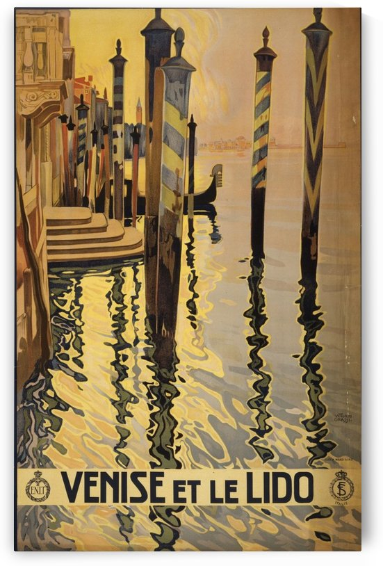 Venise by VINTAGE POSTER