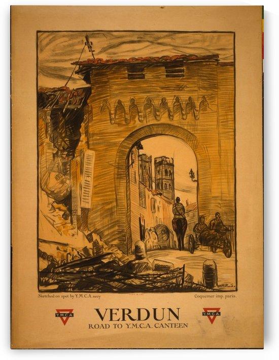Verdun by VINTAGE POSTER