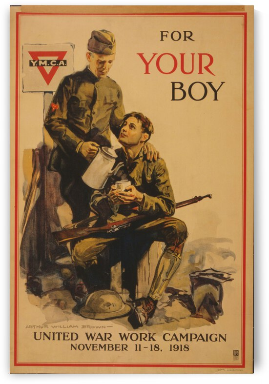 Your boy by VINTAGE POSTER