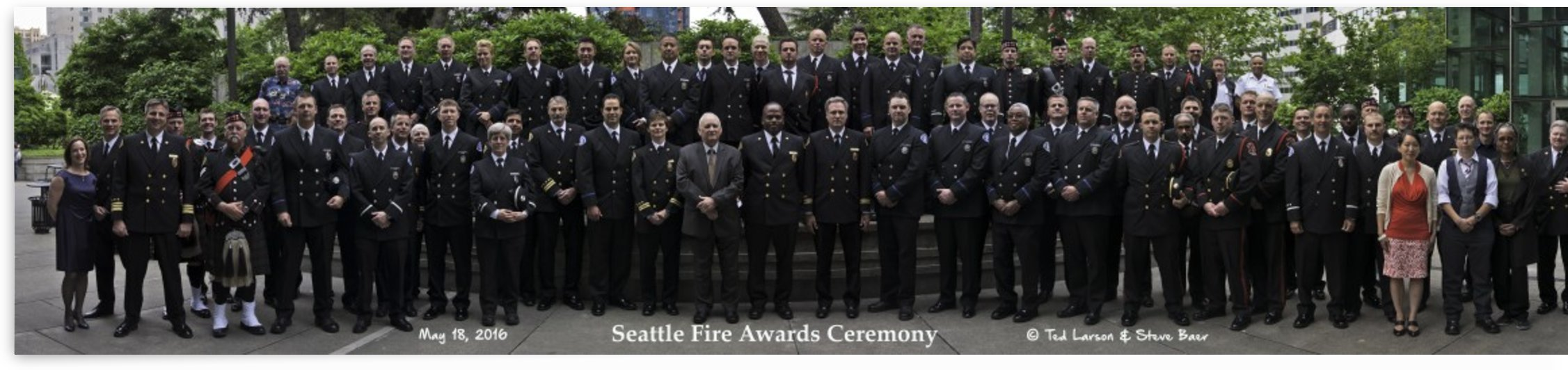 2016 Seattle Fire Awards Lunch  by Steve
