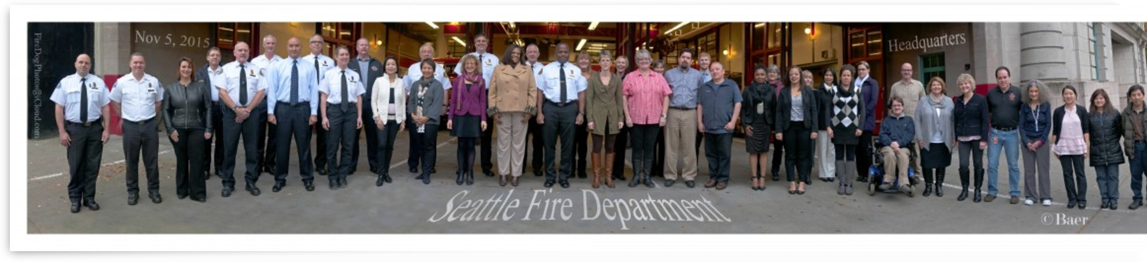 Seattle Fire Department Headquarters Photo 2015 by Steve