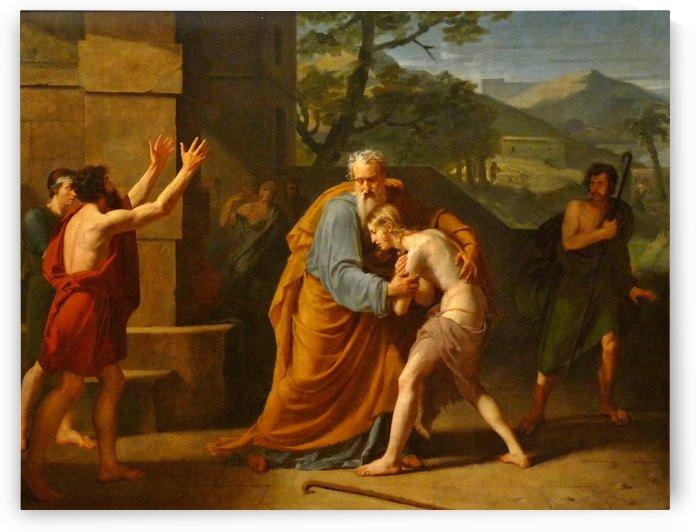 Le Retour du fils prodigue by Michel Martin Drolling