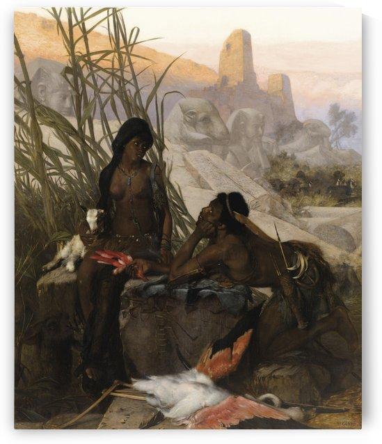 Chasseurs Nubien by Wilhelm Karl Gentz
