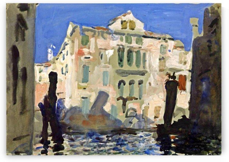 Venice by Antonio Maria Reyna Manescau