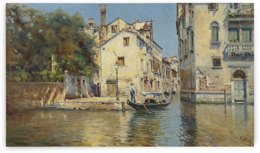 Vue de Venice by Antonio Maria Reyna Manescau