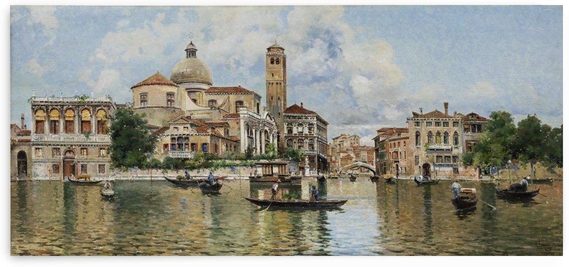 Vedute von Venedig by Antonio Maria Reyna Manescau