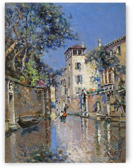 Venezianische Ansicht by Antonio Maria Reyna Manescau