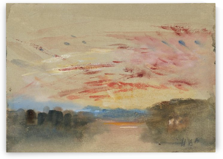 Sunset by Antonio Maria Reyna Manescau