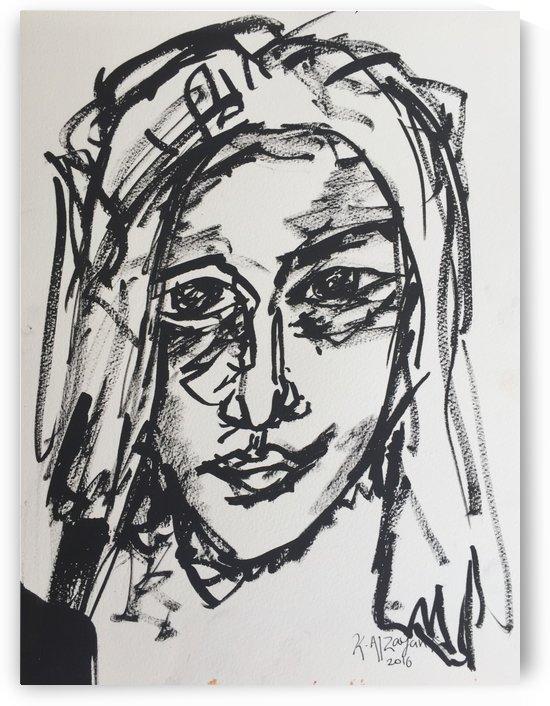 Portrait 08 by Khalid Alzayani
