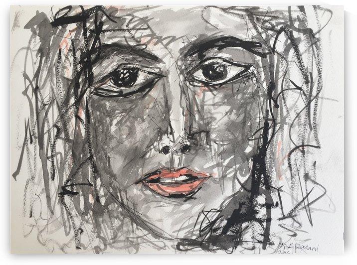 Portrait 07 by Khalid Alzayani