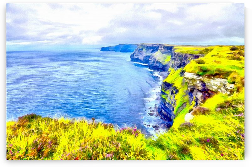 CLIFFS OF MOHER 1 AZO by Jean-Jacques MASSOU