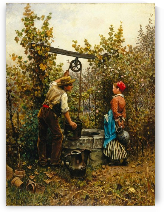 The Well by Daniel Ridgway Knight