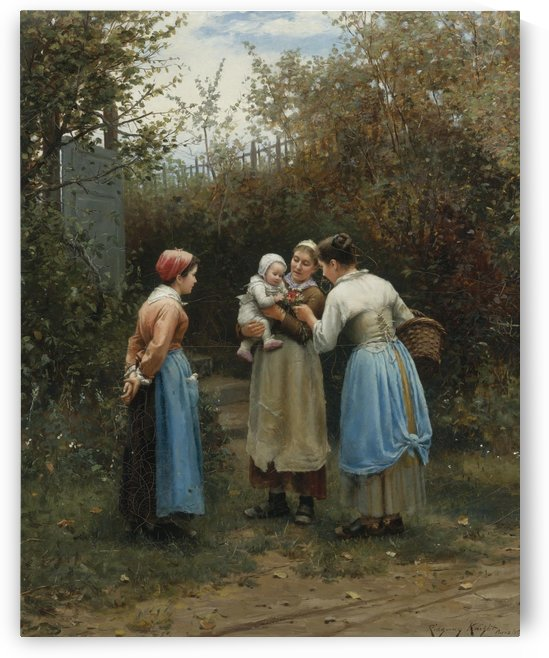 The first born by Daniel Ridgway Knight