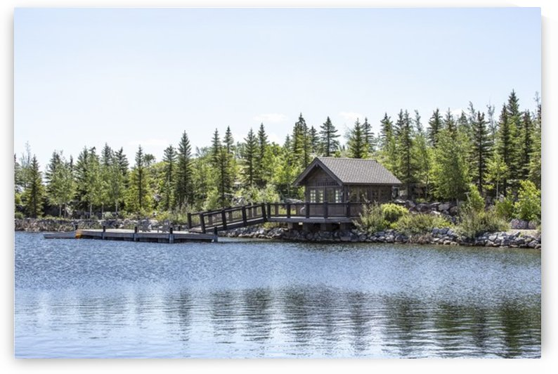 Promontory Guide Cabin by Andrew Woolstenhulme