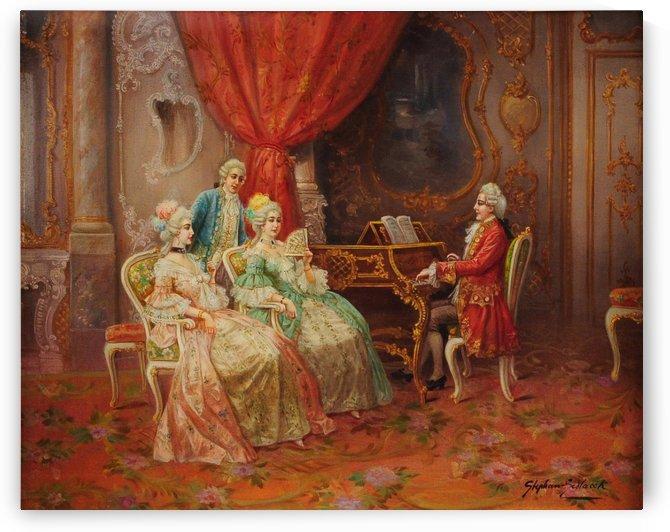 Rococo Society by Stephan Sedlacek