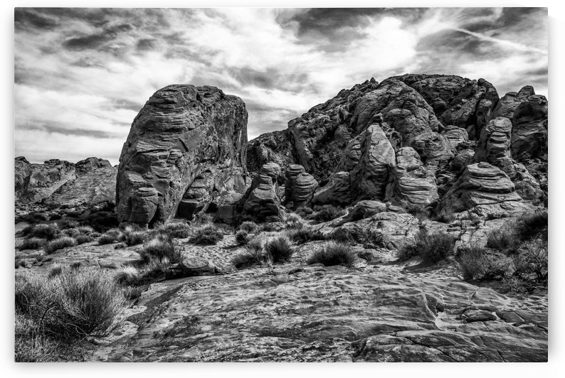 Valley of Fire by Michel Nadeau