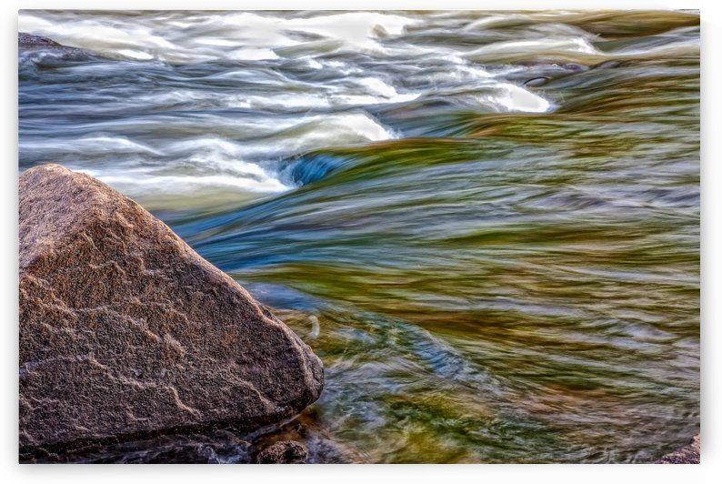 River Flow by Michel Nadeau