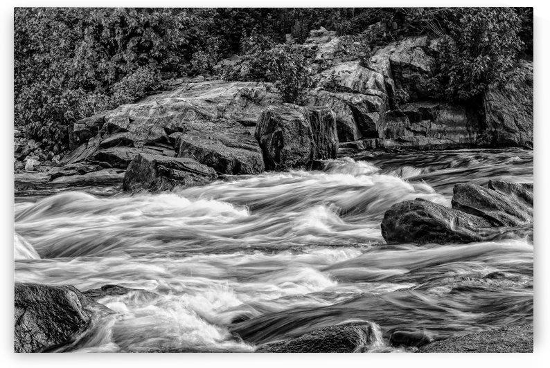 River rage by Michel Nadeau