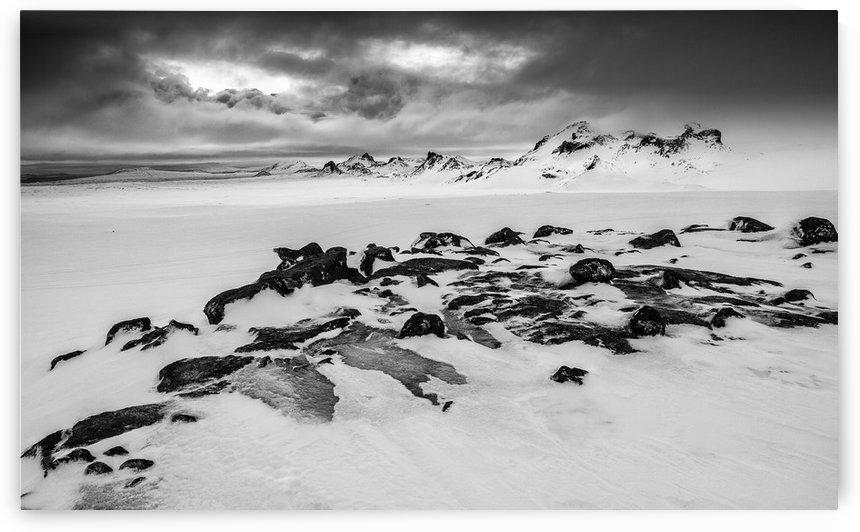 Iceland Glacier by Keith Truman