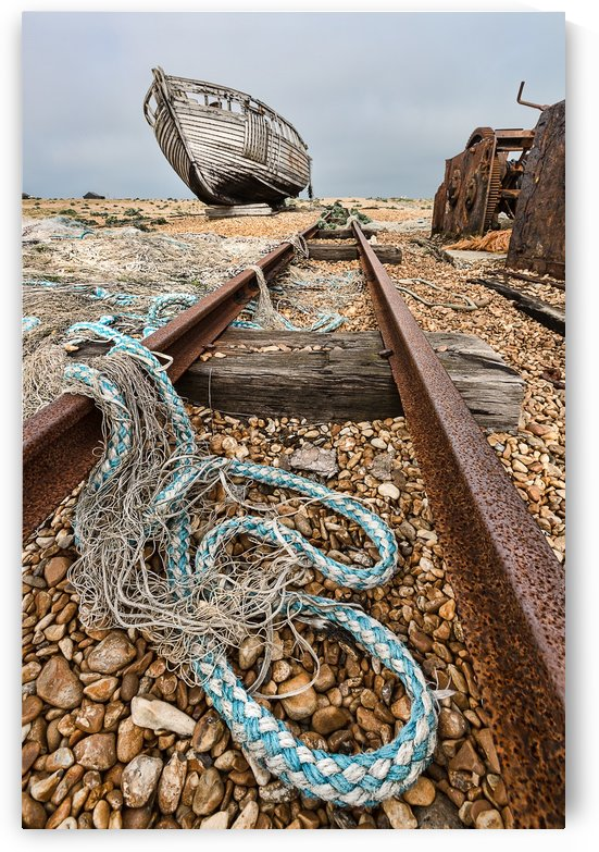 Deserted Dungeness by Keith Truman