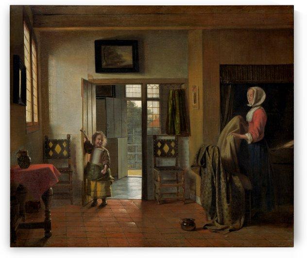 The Bedroom by Pieter de Hooch