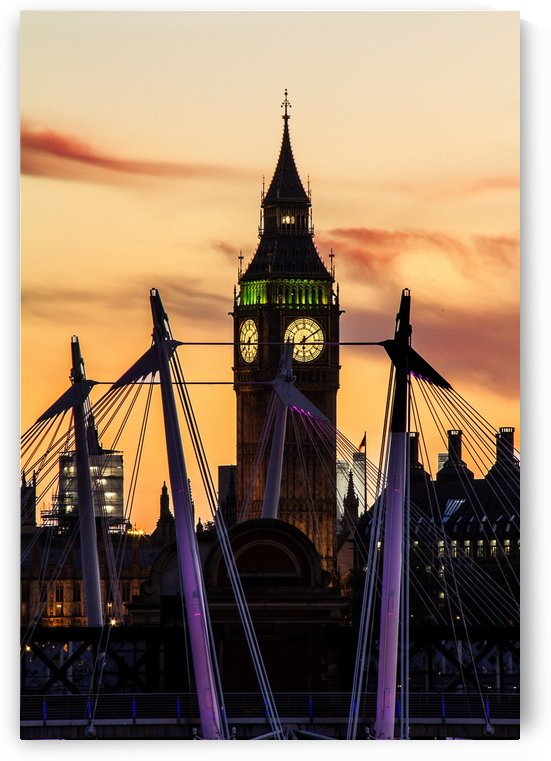 Westminster Twilight by Keith Truman