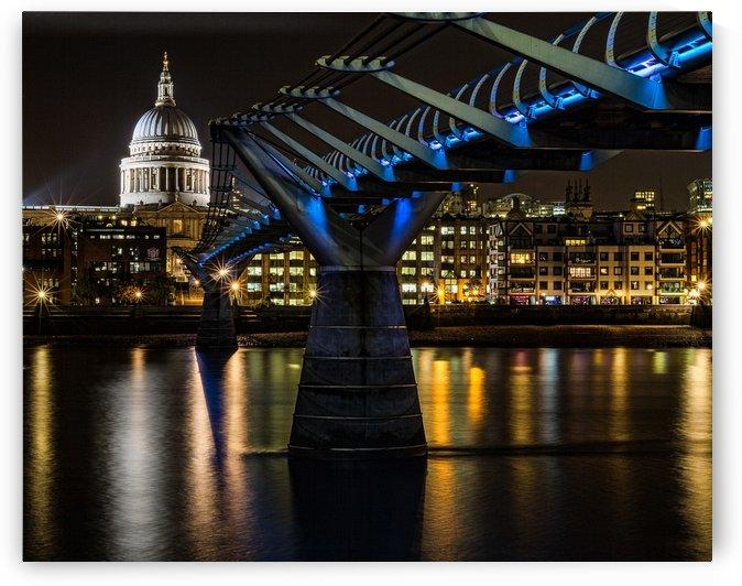 Millenium Bridge, London by Keith Truman