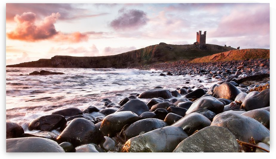 Dunstanburgh Castle 2, Northumberland, UK by Keith Truman
