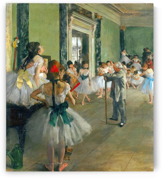 Ballet Class by Degas by Degas
