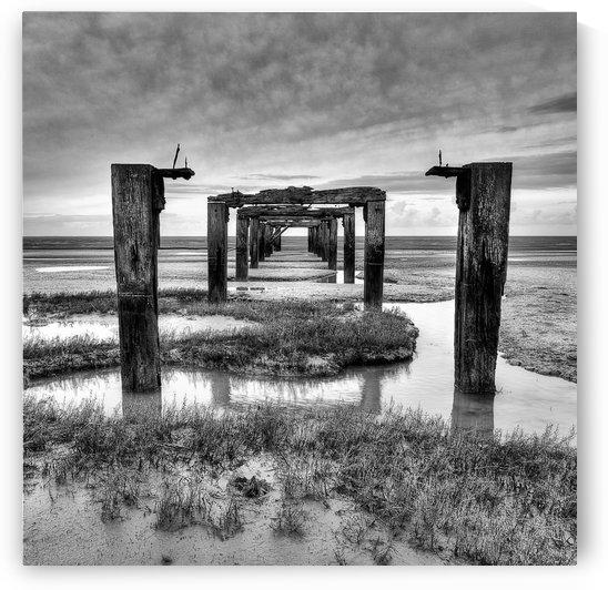 Derelict Pier by Keith Truman