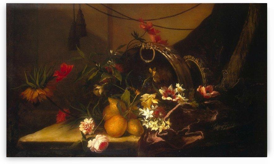 Fruit and flowers by Jean Baptiste Monnoyer