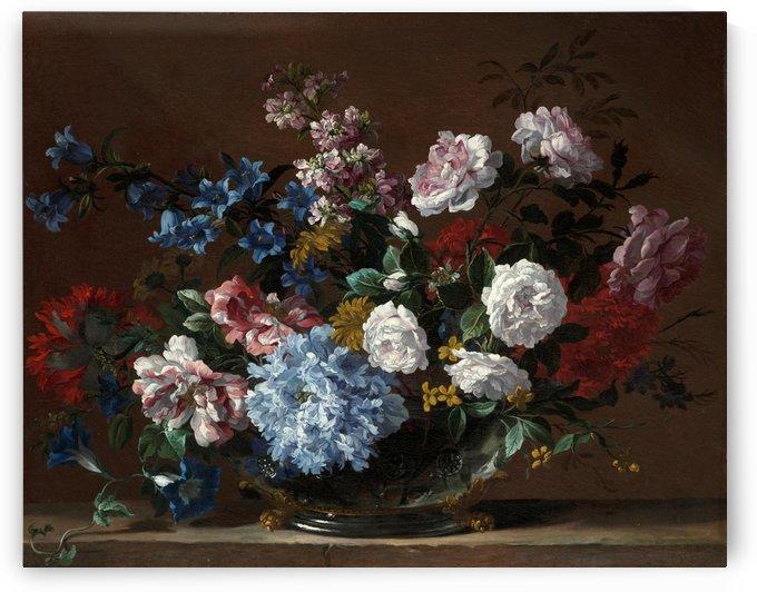 A still life of rose by Jean Baptiste Monnoyer