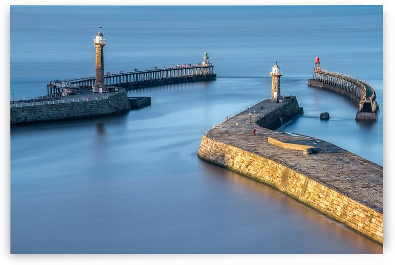 Whitby  Pier, UK by Keith Truman