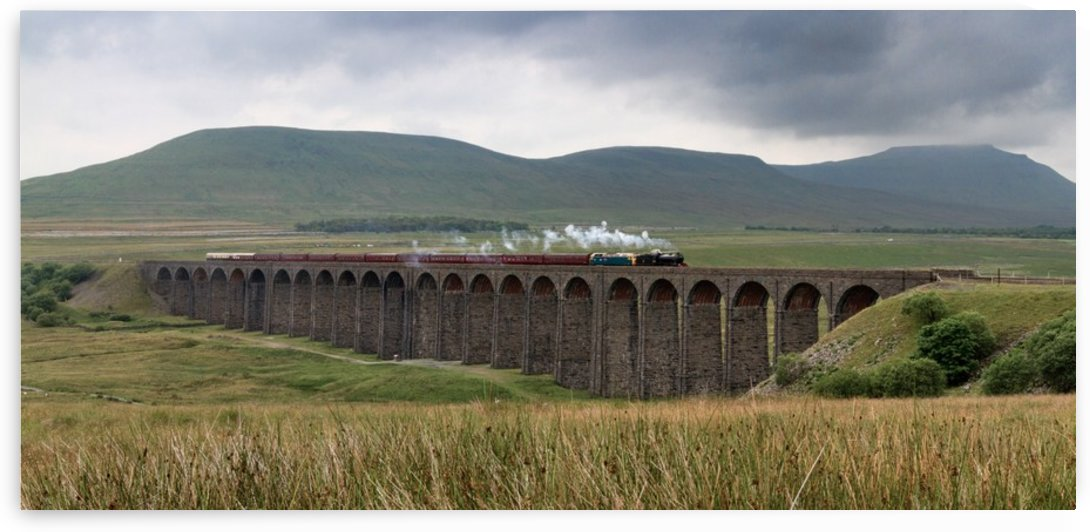 Settle-Carlisle Viaduct, Yorkshire, UK by Keith Truman