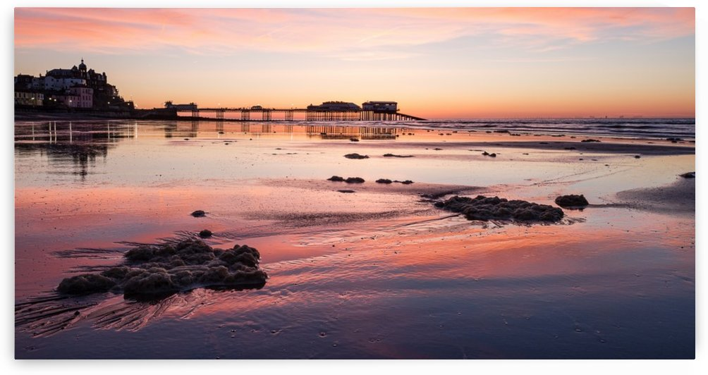 Pier Sunset by Keith Truman