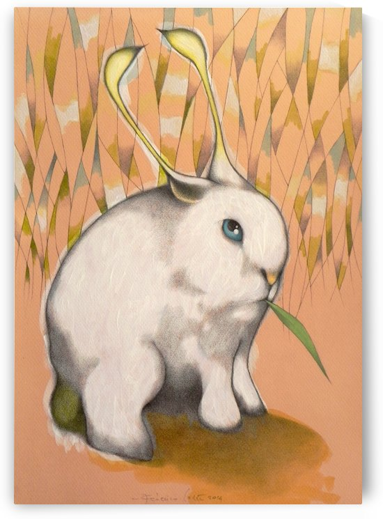 Bunny Alien by federicocortese