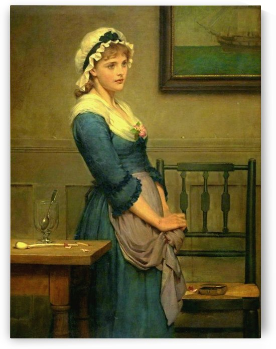Mollie by George Dunlop Leslie