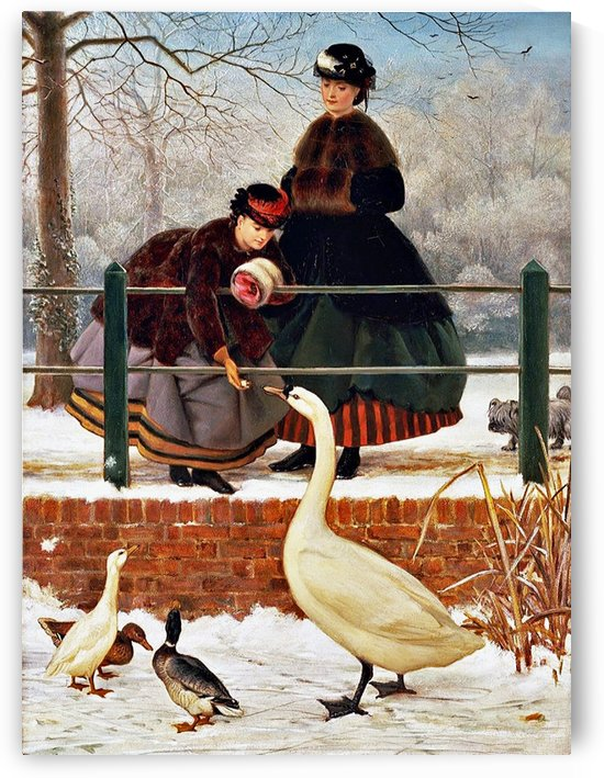 Winter Walk by George Dunlop Leslie