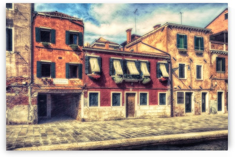 Friday Morning in Venice by Michel Nadeau