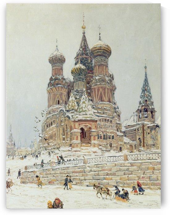 Vasiliya Blazhennogo by Nikolay Dubovskoy
