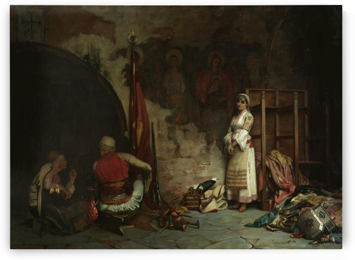 The Captive - Turkish Plunder by Theodore Ralli
