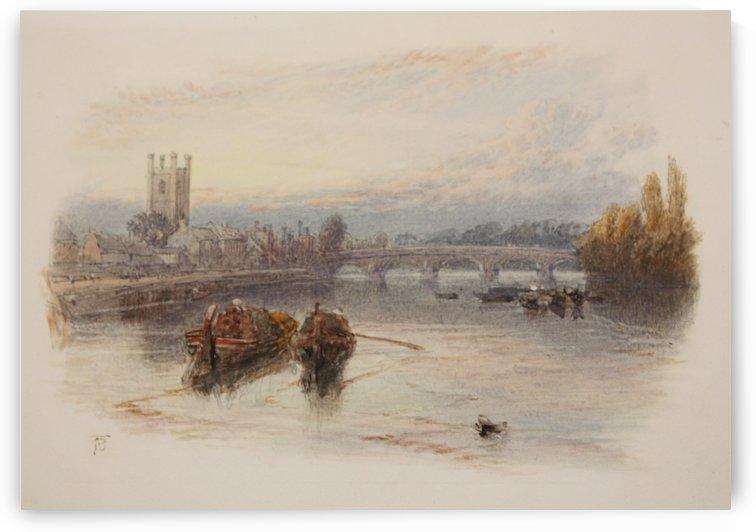 Henley on Thames by Myles Birket Foster